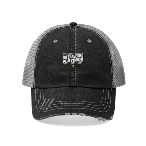 Unisex Trucker Hat The Champions Playbook VOL 2