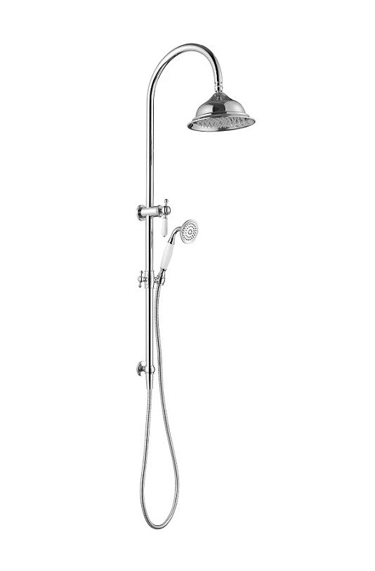 MODERN NATIONAL BOR013BM BORDEAUX TWIN SHOWER SYSTEM (BRUSHED BRONZE)
