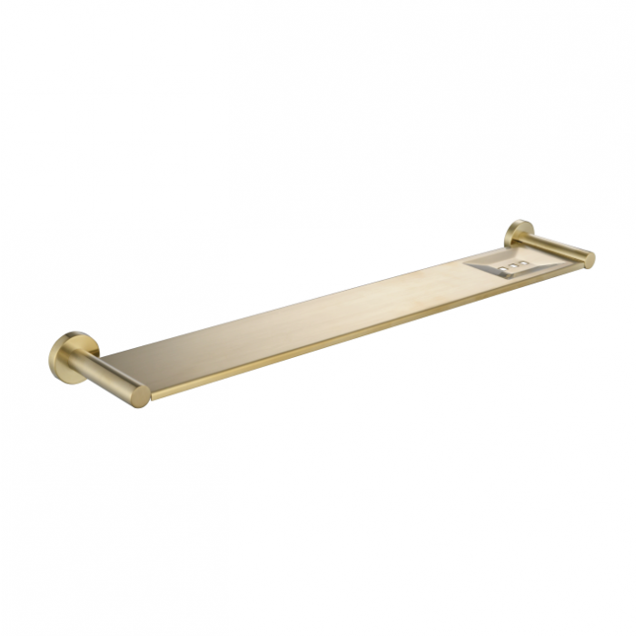 MODERN NATIONAL MIR90-2BN MIRAGE METAL SHELF (BRUSHED NICKEL)