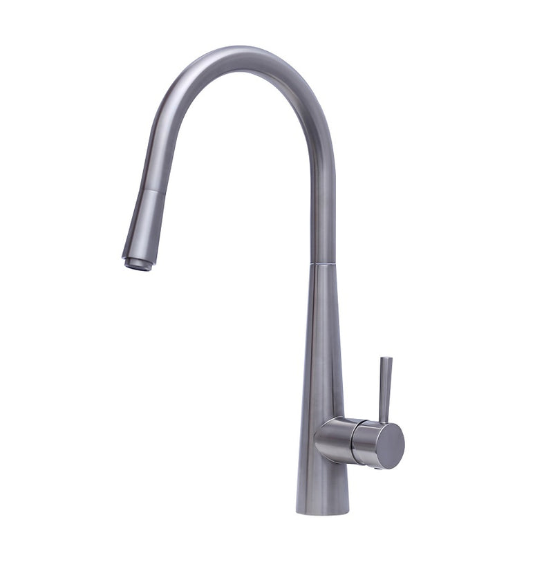 MODERN NATIONAL KSP0057GM KASPER PULL OUT KITCHEN MIXER (GUN METAL)