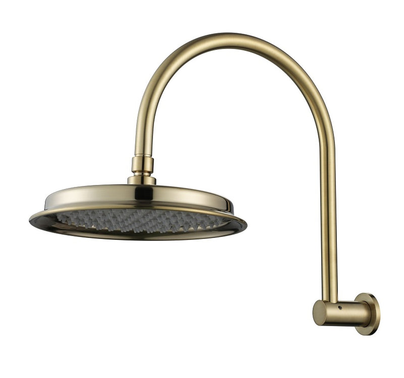 MODERN NATIONAL MON061BN MONTPELLIER SHOWER ARM WITH SHOWER HEAD(BRUSHED NICKEL)