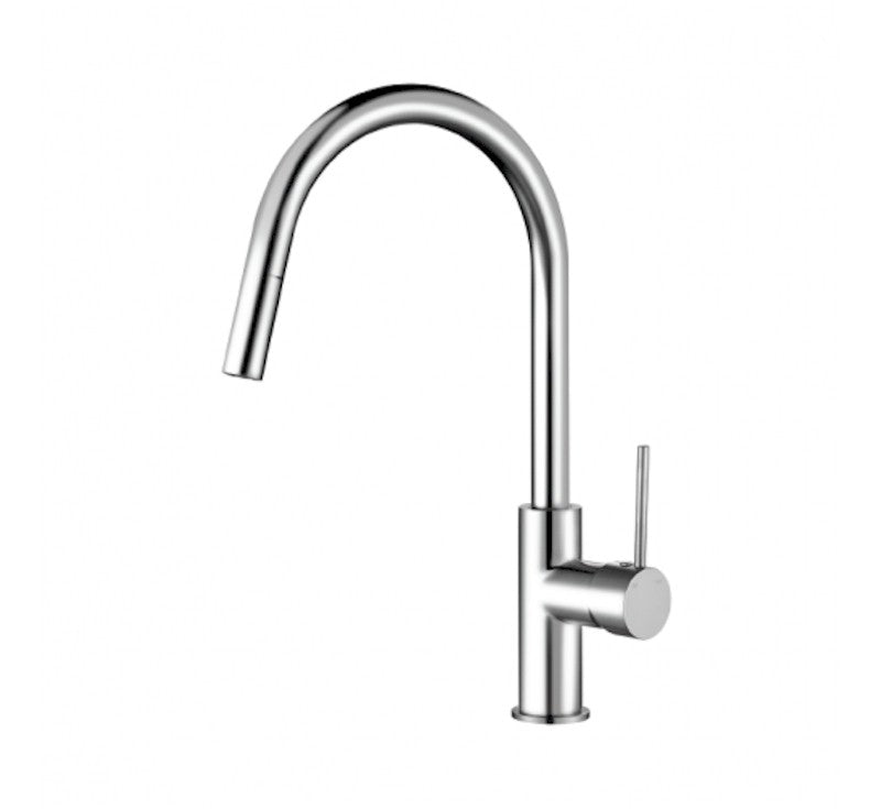 MODERN NATIONAL STRM005 STAR MINI PULL OUT KITCHEN MIXER (CHROME)