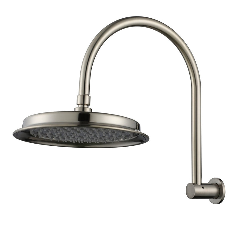 MODERN NATIONAL MON061BK MONTPELLIER SHOWER ARM WITH SHOWER HEAD (MATT BLACK)