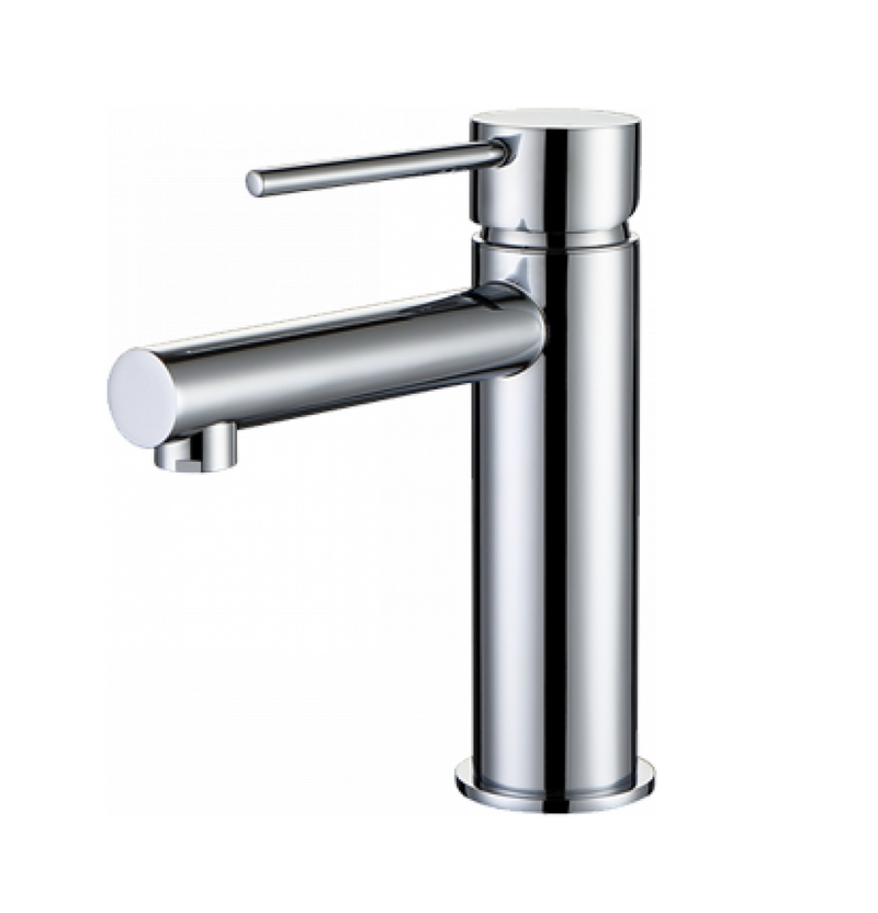 INSPIRE ROUL BASIN MIXER (MATTE BLACK AND ROSE GOLD)