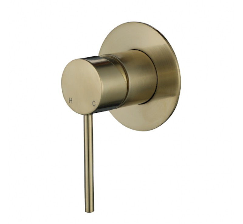 MODERN NATIONAL STRM008BM STAR MINI SHOWER MIXER (BRUSHED BRONZE)