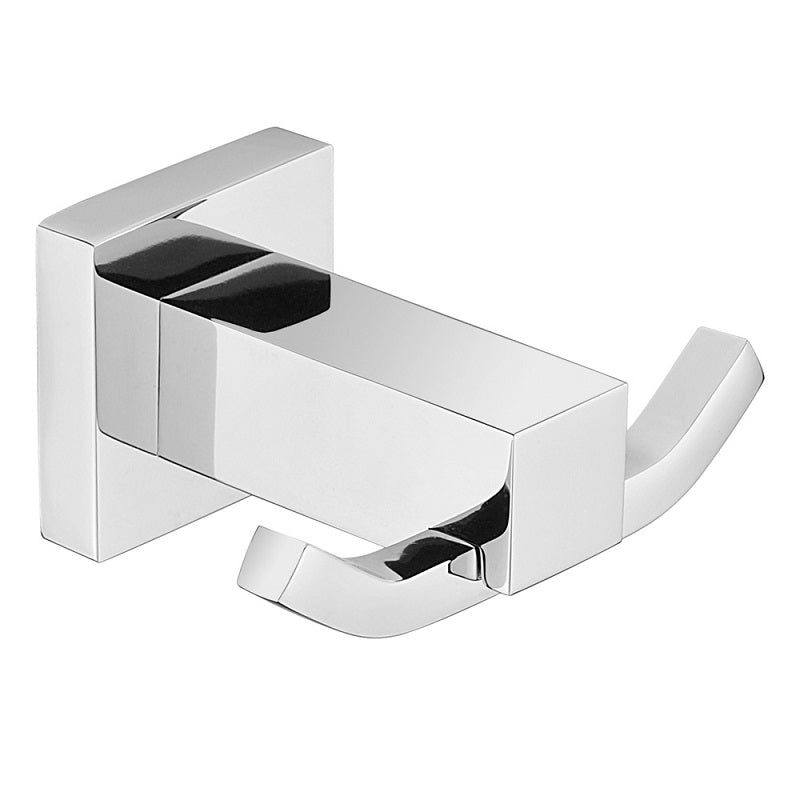 MODERN NATIONAL LUX53-2 LUXE DOUBLE ROBE HOOK (CHROME)