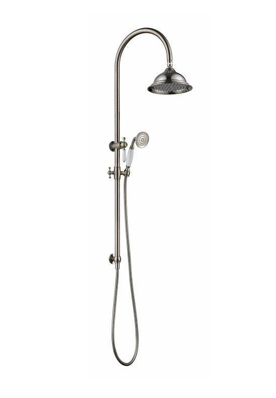 MODERN NATIONAL BOR013 BORDEAUX TWIN SHOWER SYSTEM (CHROME)