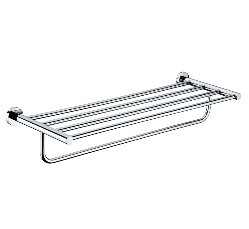MODERN NATIONAL MIR21 MIRAGE BATHROOM SHELF (CHROME)