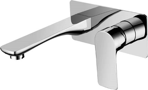 TAPART SLEEK WALL MIXER WITH OUTLET (CHROME)
