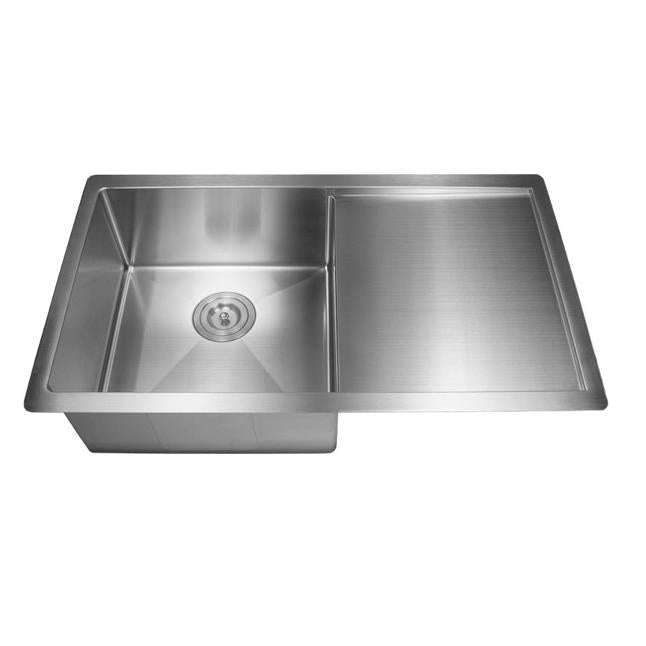 POSEIDON PKSS-810SDR HAND MADE STAINLESS STEEL KITCHEN SINK