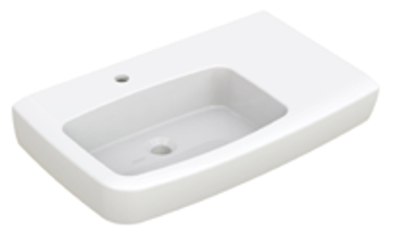 JOHNSON SUISSE LUCCA SHELF RH WALL HUNG BASINS