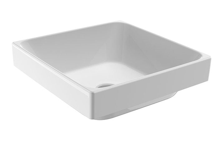 JOHNSON SUISSE GEMELLI SQUARE SEMI-INSET SEMI-INSET BASINS