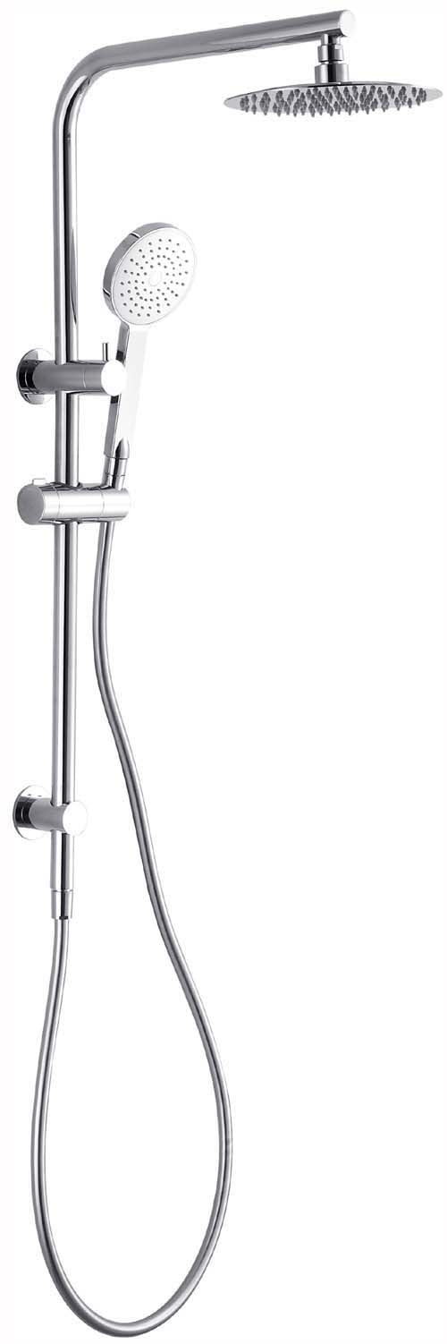 HELLYCAR CUTER SHOWER SYSTEM WITH RAIL BLACK