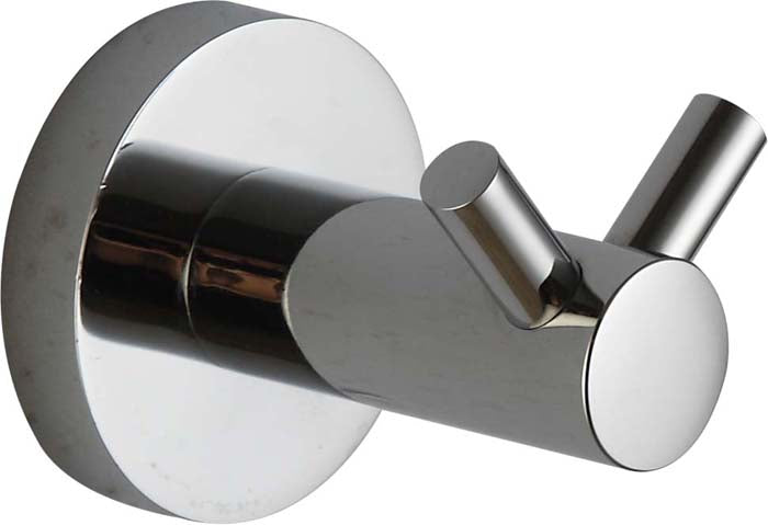 HELLYCAR IDEAL DOUBLE ROBE HOOK CHROME