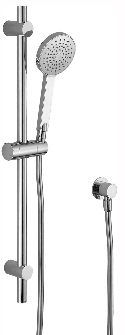 HELLYCAR CUTER HAND SHOWER ON RAIL ROSE GOLD