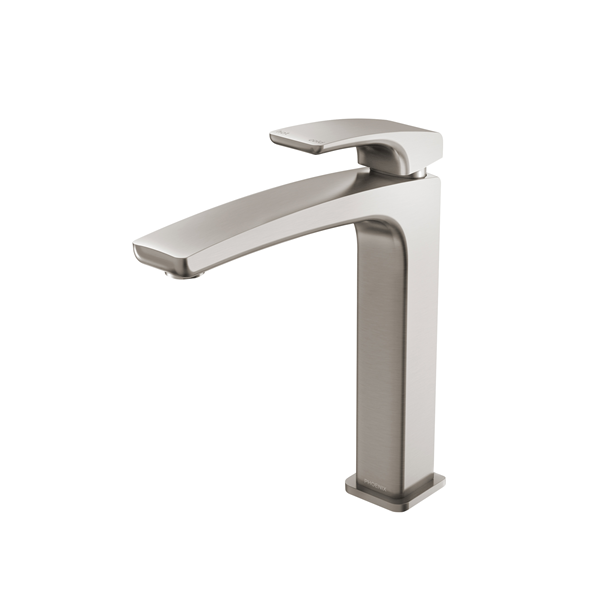 PHOENIX RUSH VESSEL MIXER BRUSHED NICKEL