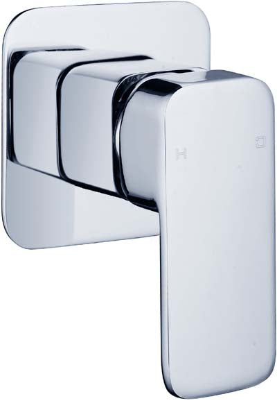HELLYCAR ELEGANT WALL BATH/SHOWER MIXER 35MM CHROME