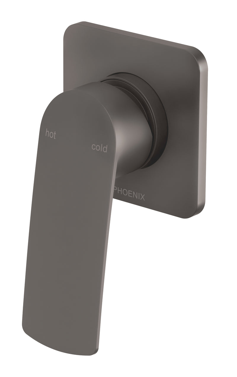 PHOENIX MEKKO SHOWER/WALL MIXER MATTE BLACK