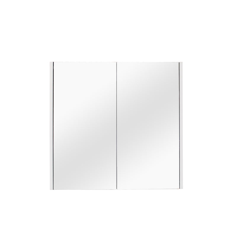 POSEIDON MATTE WHITE QUBIST SHAVING CABINETS (AVAILABLE IN 600MM,750MM AND 900MM)