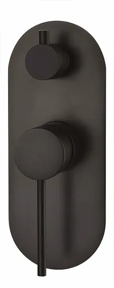 INSPIRE ROUL WALL DIVERTER MIXER (CHROME)