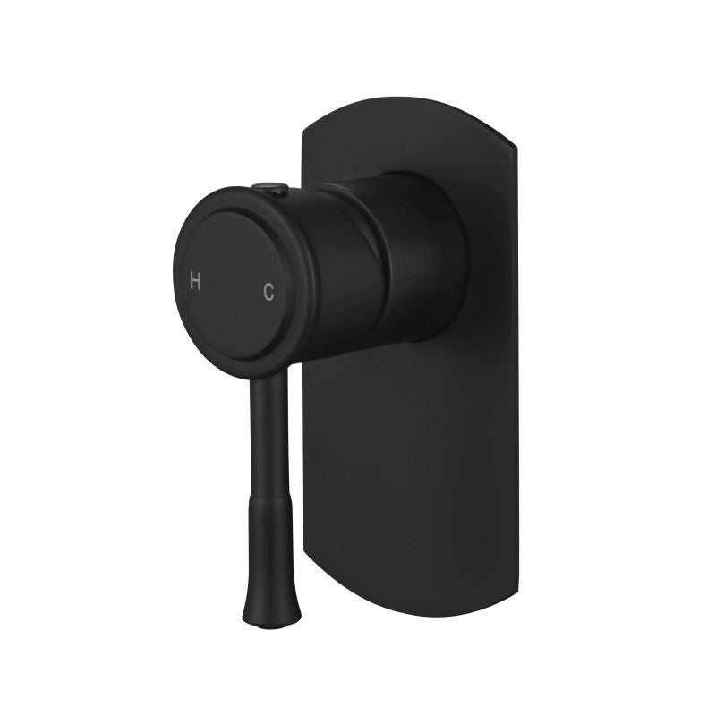 MODERN NATIONAL MON008BK MONTPELLIER SHOWER MIXER (MATT BLACK)
