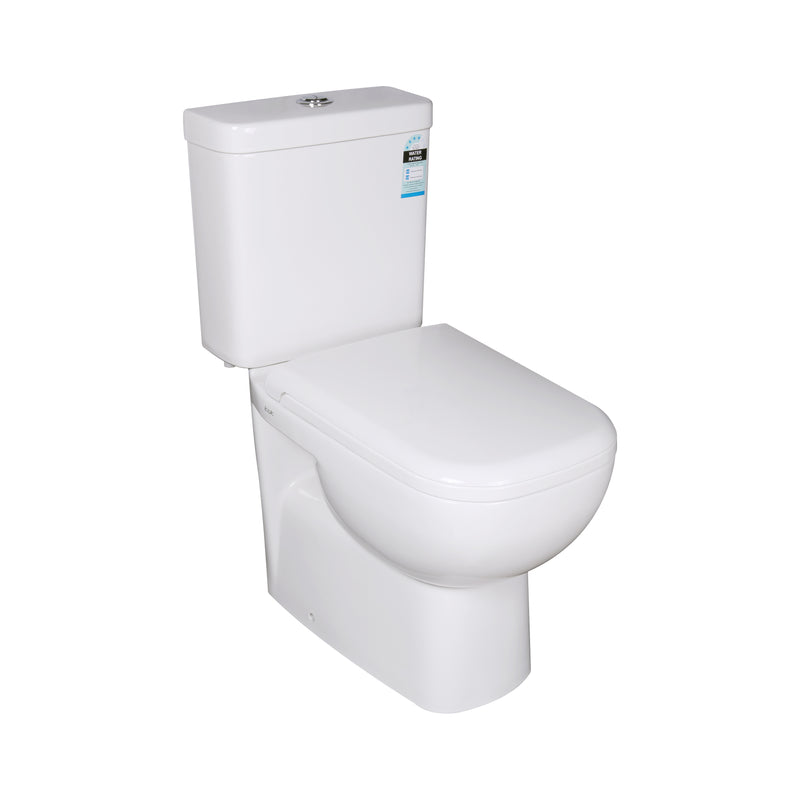 POSEIDON CUBO CLOSED COUPLE TOILET SUITE