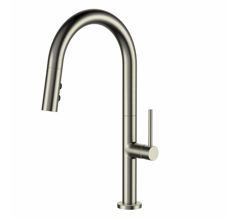 MODERN NATIONAL BENTLEE PULL-OUT KITCHEN MIXER WITH 2 BUTTON (CHROME)