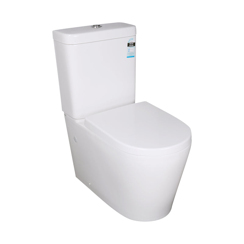 POSEIDON KASEY BLACK BACK TO WALL TOILET SUITE