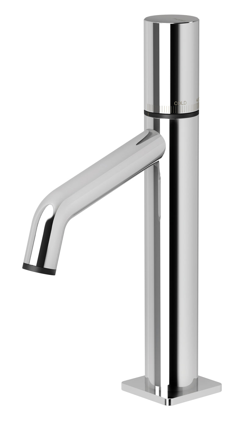 PHOENIX TOI BASIN MIXER CHROME AND MATTE BLACK