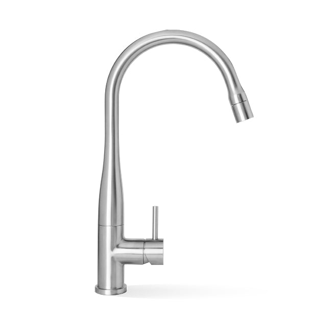 LINKWARE ELLE STEEL PULL OUT MIXER CHROME