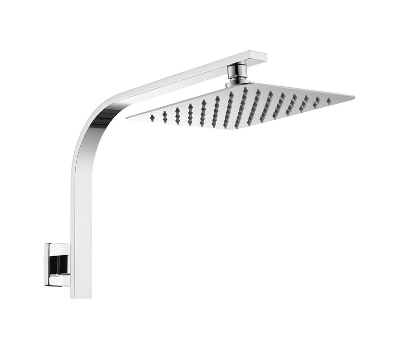 LINKWARE LIBERTY 200MM GOOSENECK SHOWER CHROME