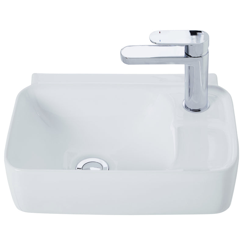 JOHNSON SUISSE GEMELLI COMPACT WALL HUNG BASINS