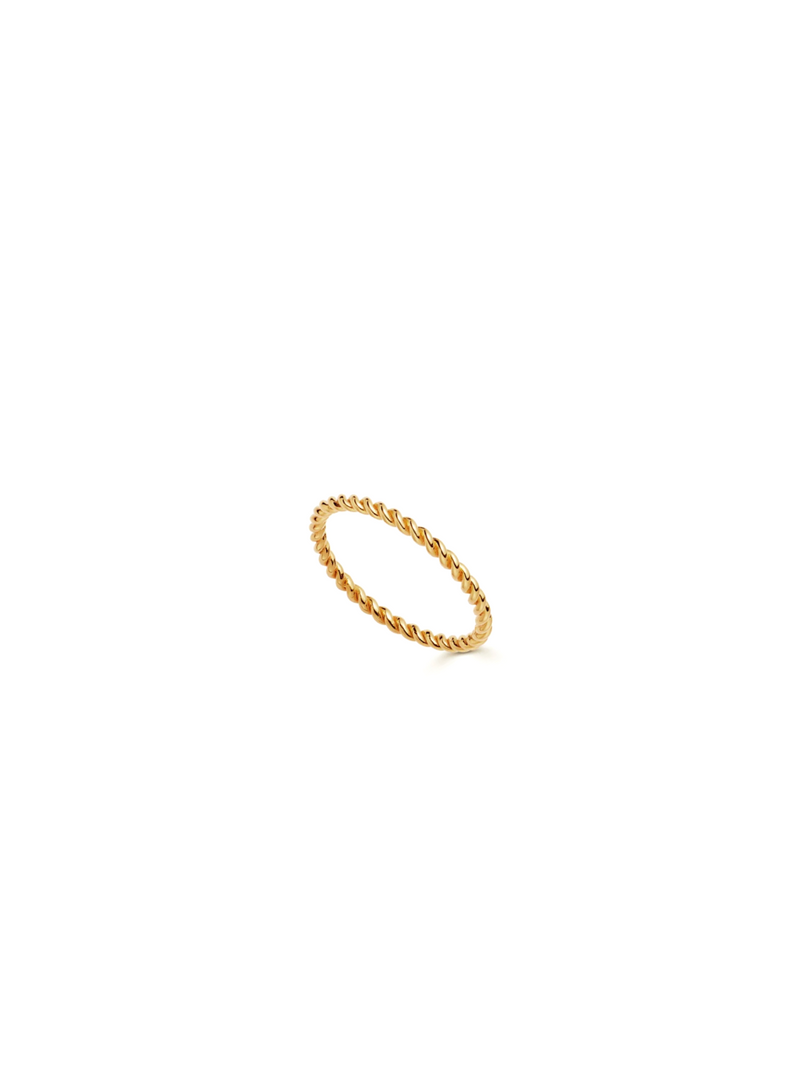 Stackable Moments (Bundle of 2 Gold Rings)