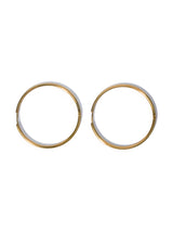 Mega Gold Hoops