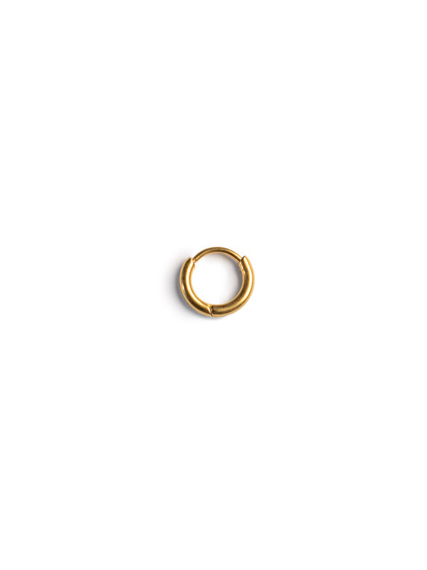 Micro Mini Gold Hoops