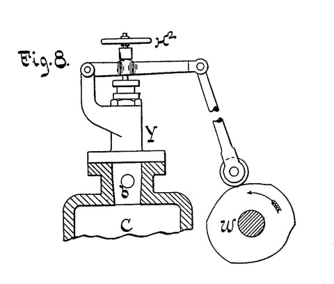diesel engine diagram showing mechanism for injection timing and duration