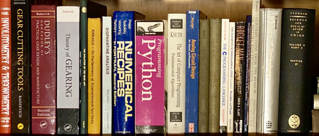 Some of the books on our shelf