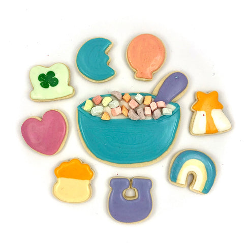 March 13, 2021 - VIRTUAL - St. Patty's Day Cookie Decorating w/ Katie Craddock of BDKC Bakery