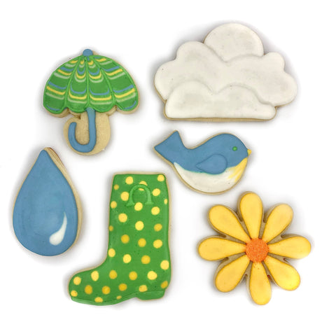 April 17, 2021 - VIRTUAL - Rainy Day Cookie Decorating w/ Katie Craddock of BDKC Bakery