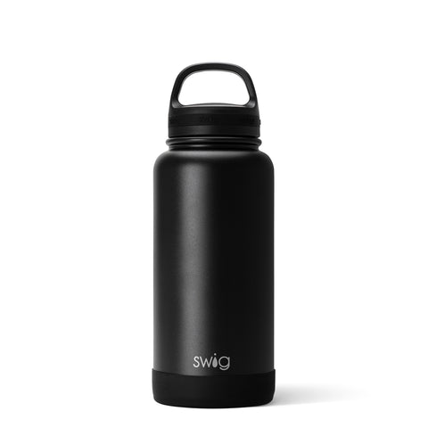 30 oz Water Bottle, Matte Black