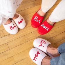 Load image into Gallery viewer, Bisou Slippers Kiddo Pink