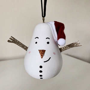 Snowman bauble - Styled By Sally