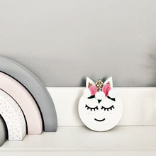 Load image into Gallery viewer, Mini unicorn shelf plaque - Styled By Sally