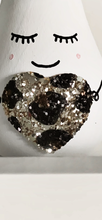 Load image into Gallery viewer, Leopard heart Mini pear/Bauble - Styled By Sally