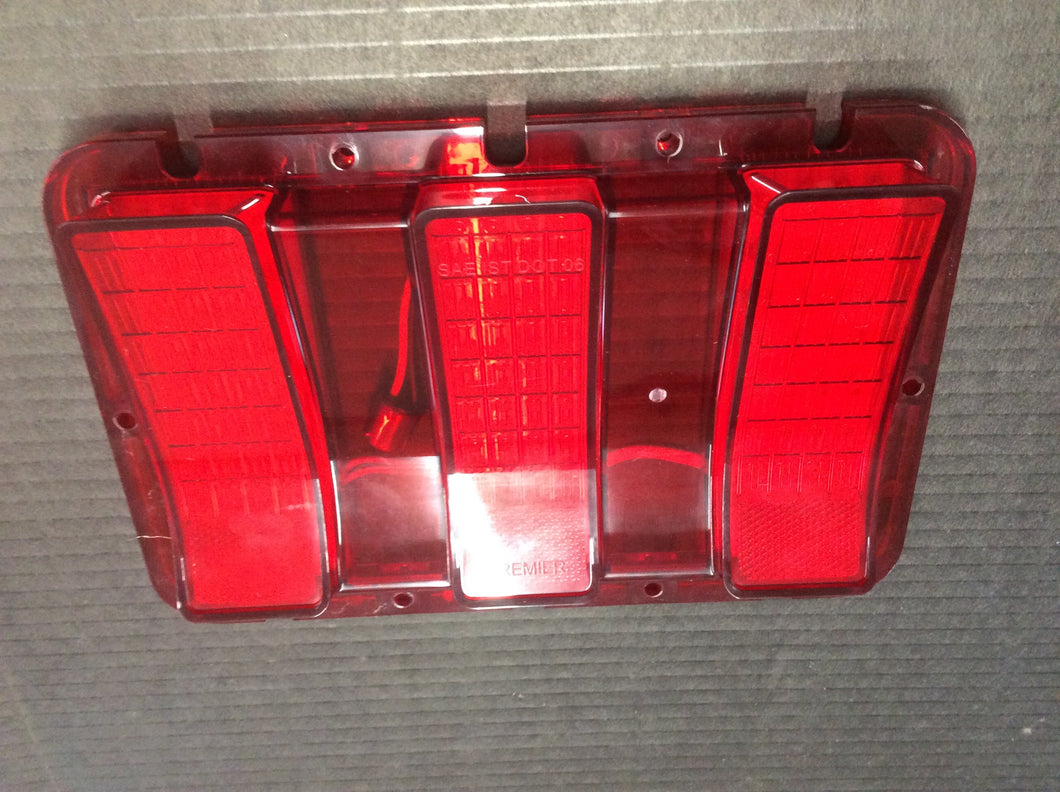 1967-1968 Mustang LED Tail Lights with Sequential Turn Signals