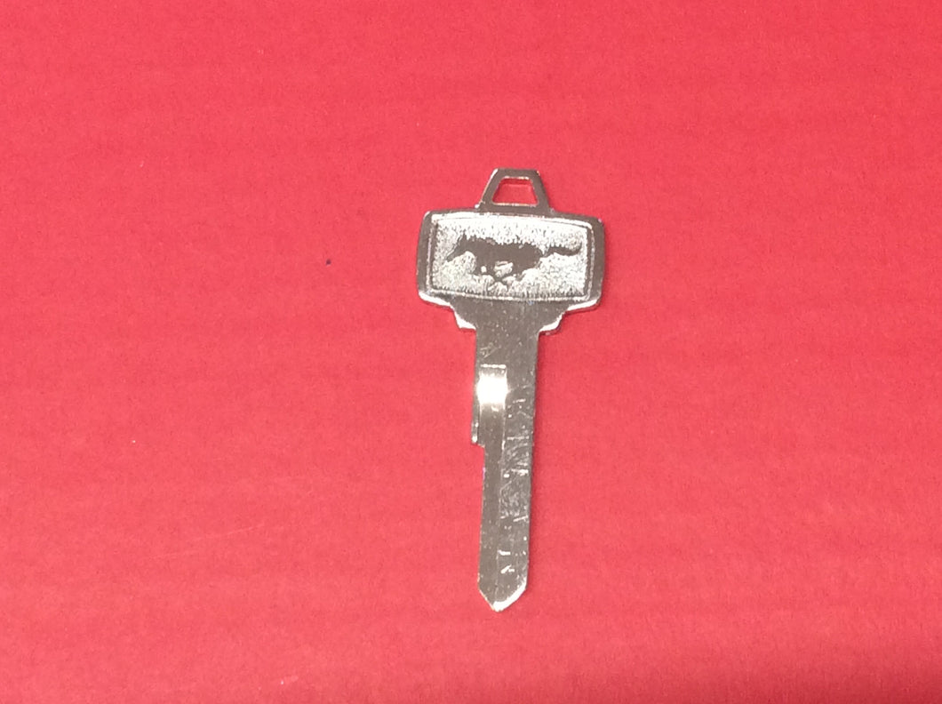 1964 1/2-66 Mustang Ignition Key Pony Square Head Style