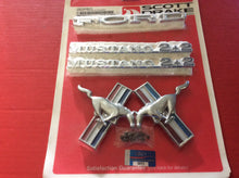 Load image into Gallery viewer, 1965-1966 Mustang Fastback Emblem Set 6 Cylinder