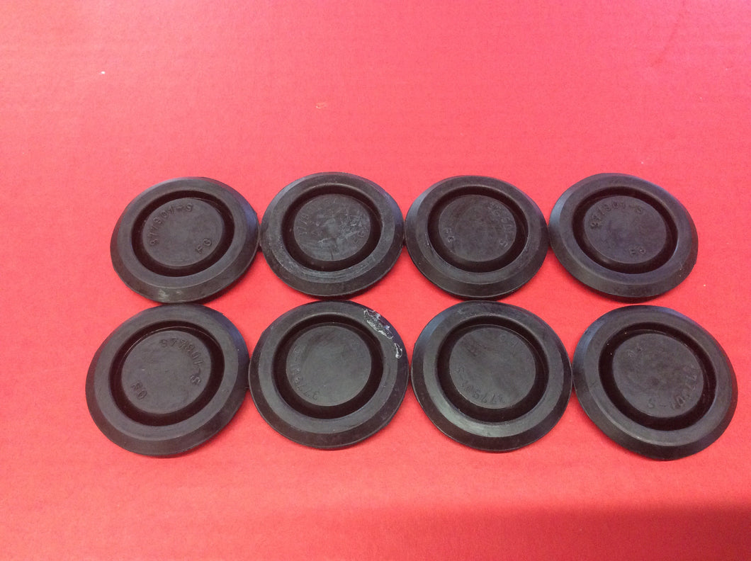1965-1973 Mustang Rubber Floor Pan Plugs Set of 8