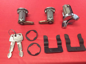 1970-1973 Mustang Door & Ignition Lock Set