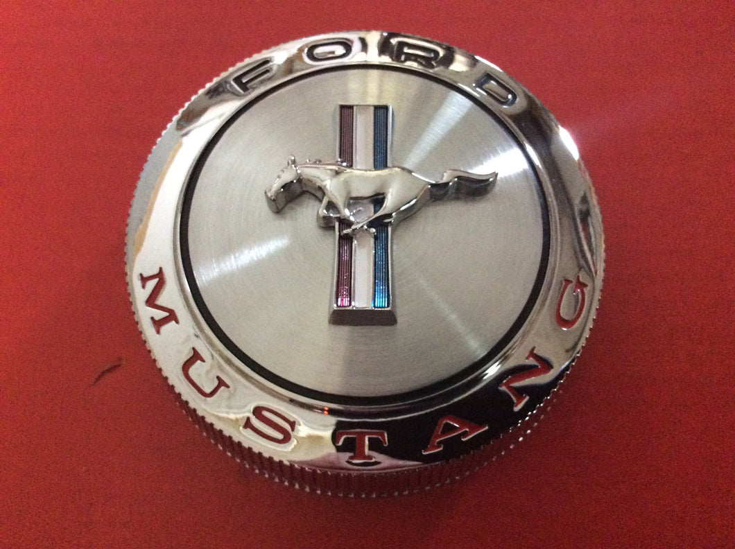 1966 Mustang Gas Cap Standard with Retaining Wire
